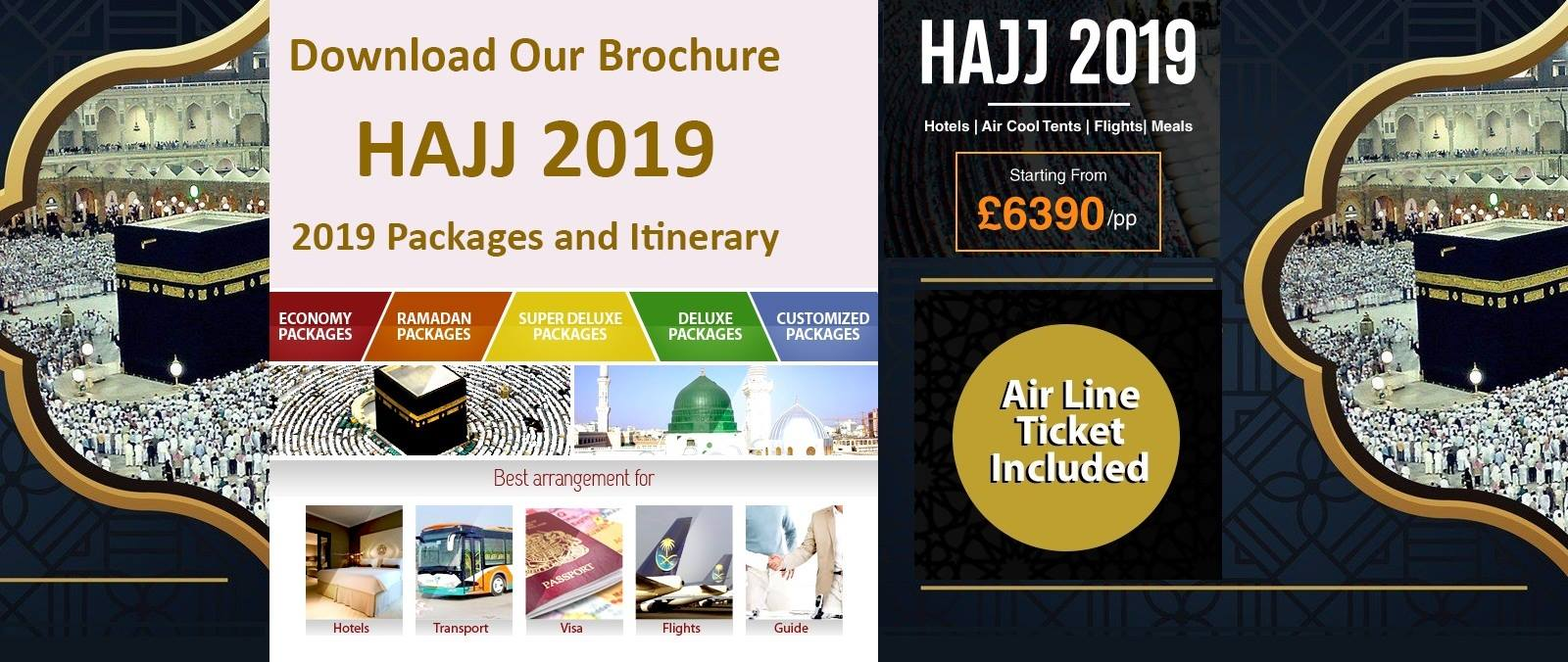Hajj and Umrah – American United Travel
